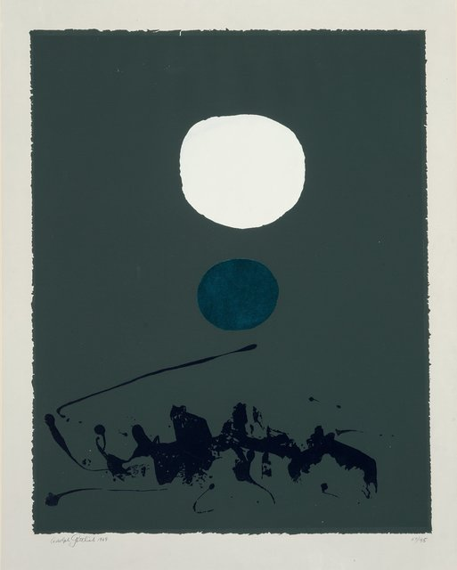 Adolph Gottlieb, 'Green Dream', 1969, Print, Screenprint in colors on paper, Heritage Auctions