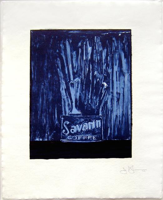, 'Savarin (Blue) (ULAE 198),' 1979, Joseph K. Levene Fine Art, Ltd.