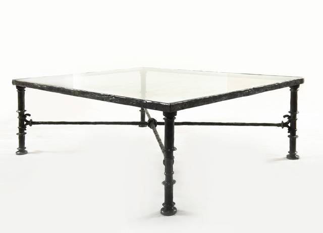 Diego Giacometti, 'Table grecque', 1962, Design/Decorative Art, Bronze with brown patina, HELENE BAILLY GALLERY