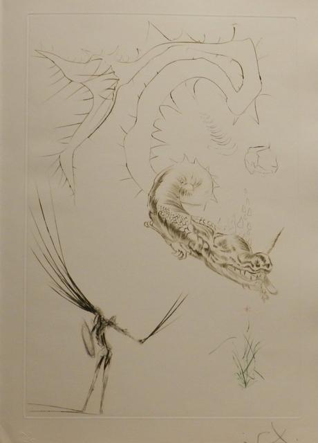 Salvador Dalí, 'Tristan et Iseult Tristan and The Dragon', 1970, Print, Etching, Fine Art Acquisitions Dali
