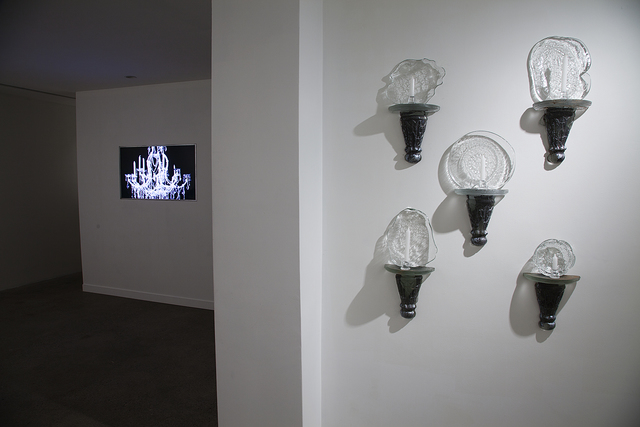 , 'Installation View: The Lucent Parlor Chapter II and Sconces,' 2015, Cade Tompkins Projects