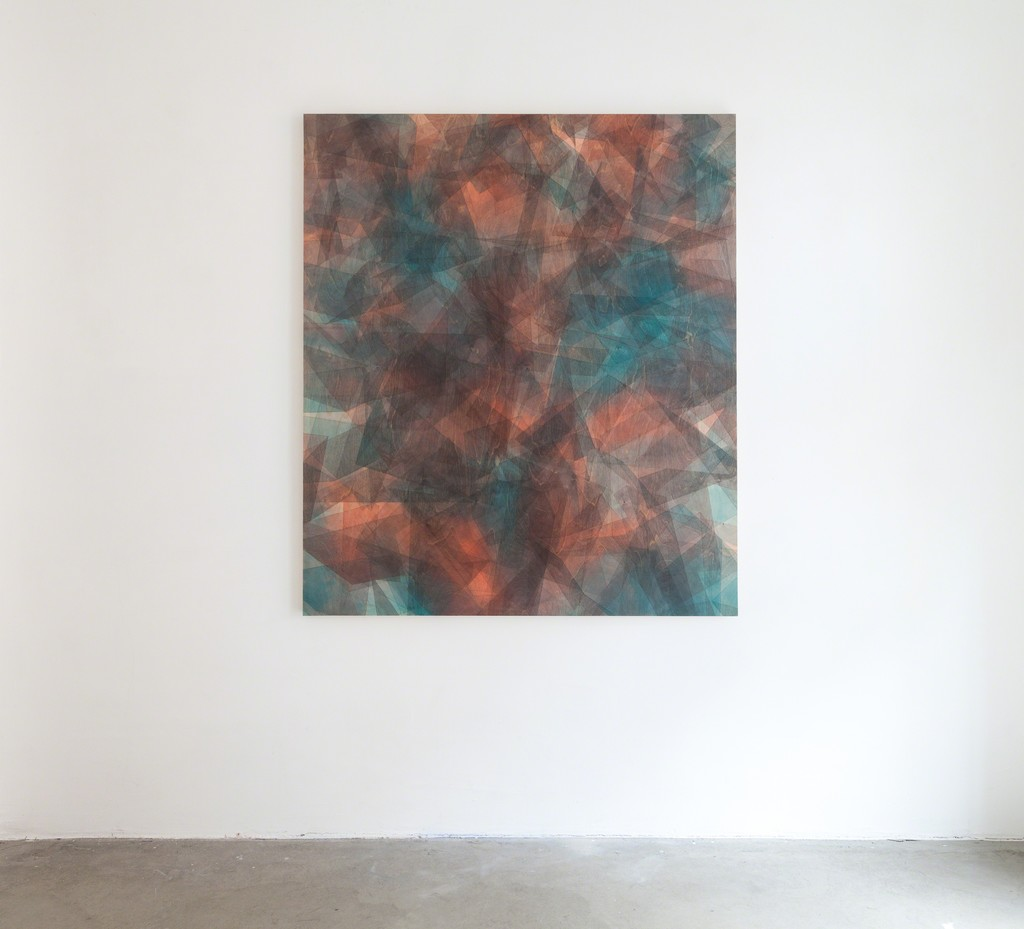 """exhibition view: solo show """"When is enough wnough?"""" by Christoph Bucher (Dusseldorf, GER) at DAS ESSZIMMER – space for art+"""