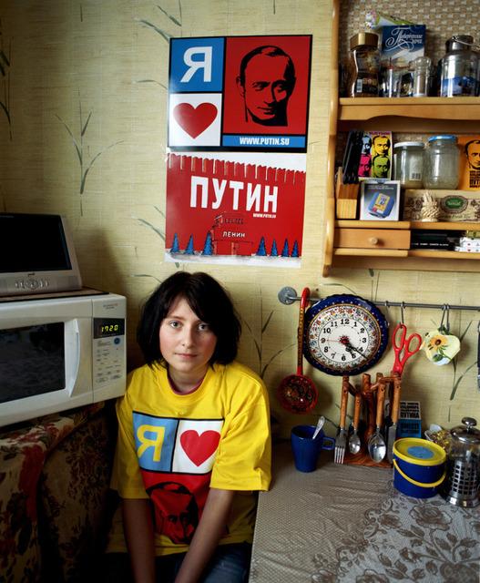 , 'Lena in the kitchen,' 2007, Faur Zsofi Gallery