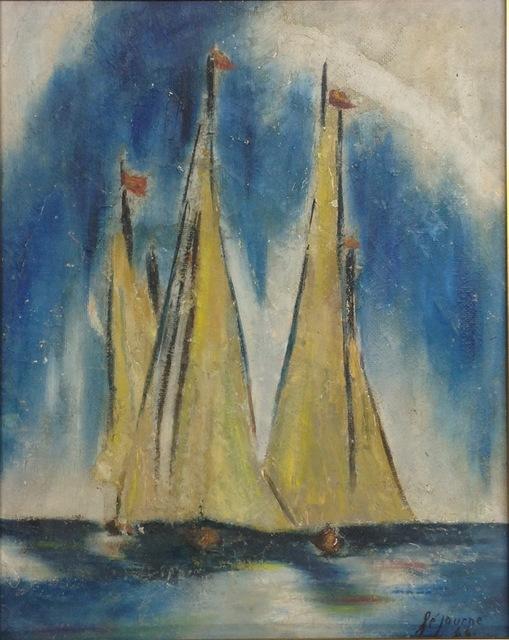 , 'Marine,' 1966, Myriam Nader Haitian Art Gallery