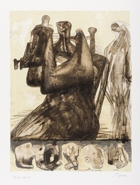 Henry Moore, 'Mother and Child with Border Design (Cramer 433),' 1976, Forum Auctions: Editions and Works on Paper (March 2017)