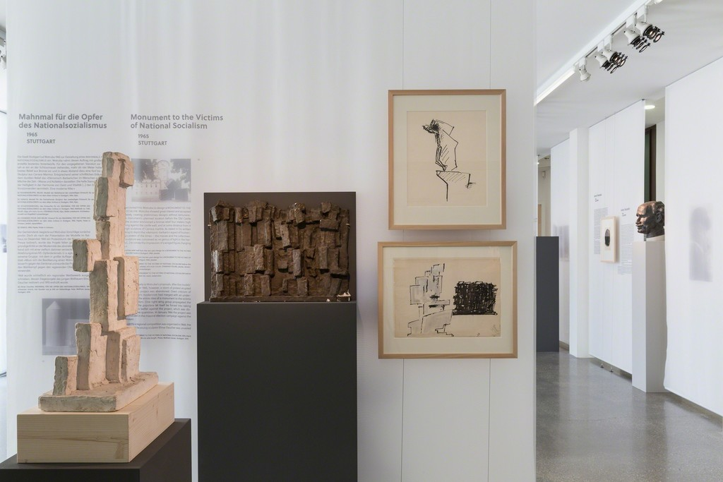 """Fritz Wotruba: Monuments, Sculpture, and Politics"" at 21er Haus, Vienna. Courtesy of Fritz Wotruba Private Foundation, Belvedere, Vienna. Photo: Sophie Thun."