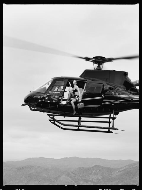 Tyler Shields, 'Helicopter IV', 2021, Photography, Film, Isabella Garrucho Fine Art