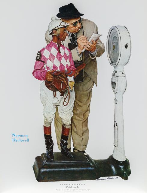 , 'Weighing In (The Jockey),' 1958, Heather James Fine Art