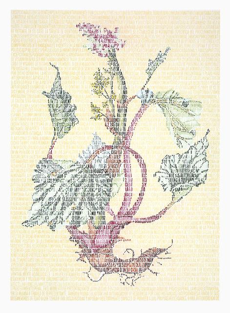 , 'Autoctonía. Lili Polygonaceae,' 2015, Rosa Santos
