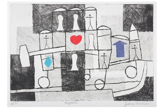 Julian Trevelyan, 'Triplane', Chiswick Auctions