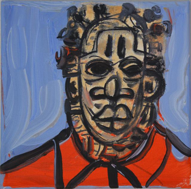 , 'African Warrior Mao,' 2018, Ethan Cohen New York