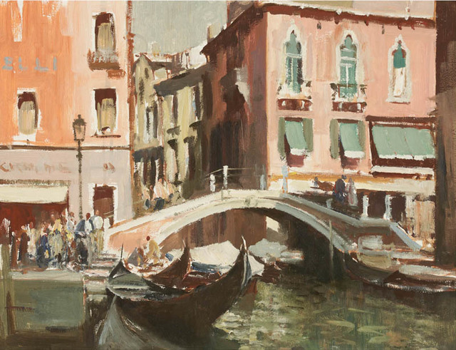 , 'A Canal in Venice,' , Portland Gallery