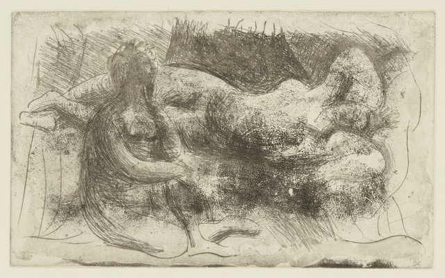 Pablo Picasso, 'Femme veillant une dormeuse (B. 238; Ba. 261)', Print, Etching and drypoint, Sotheby's