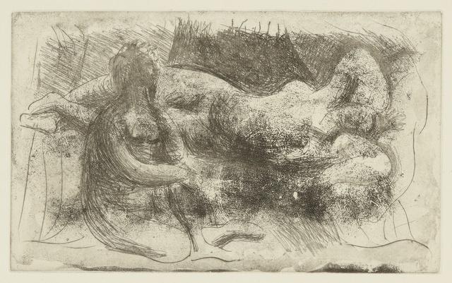 Pablo Picasso, 'Femme veillant une dormeuse (B. 238; Ba. 261)', Sotheby's