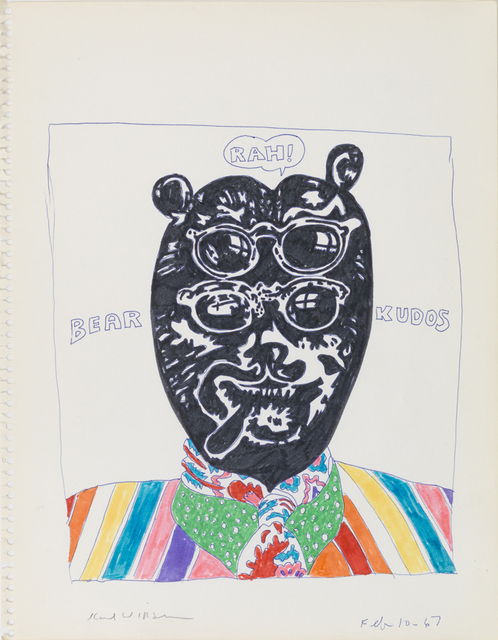 , 'Bear Rah! Kudos,' 1967, Derek Eller Gallery