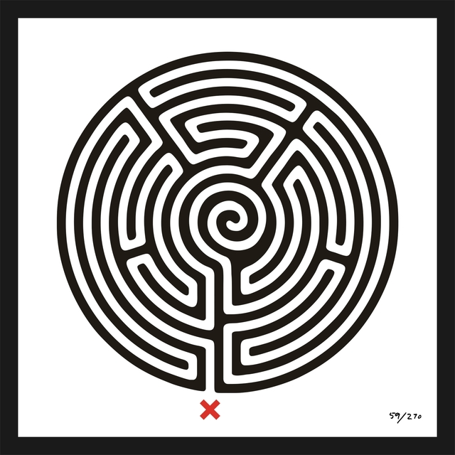 , 'Labyrinth #59 Regent's Park,' 2013, Galerie Krinzinger