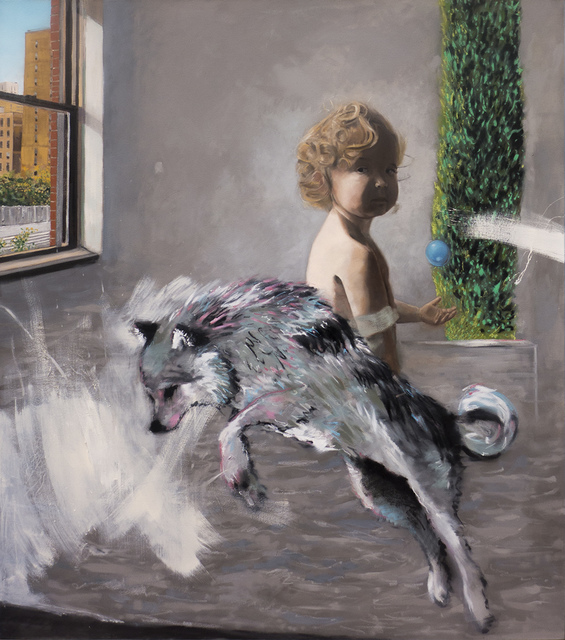 , 'Cypress and the Wolf,' 2018, LatchKey Gallery
