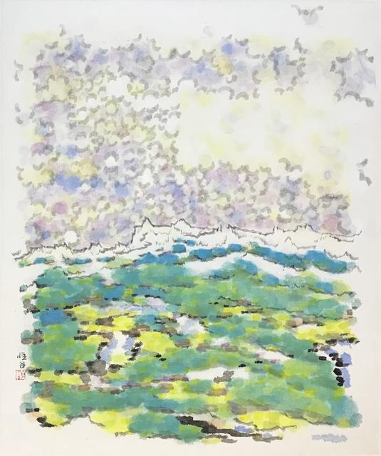 Liu Mu, 'Lawn, Snow Mountain and Propitious Clouds', 2011, Illuminati Fine Art