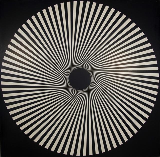 , 'Kinematische Scheibe XXX/5,' 1970, Dierking