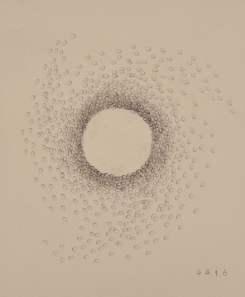 Stephanie Strange, 'Beard IV', 2018, Drawing, Collage or other Work on Paper, Typewriter on paper, Wally Workman Gallery