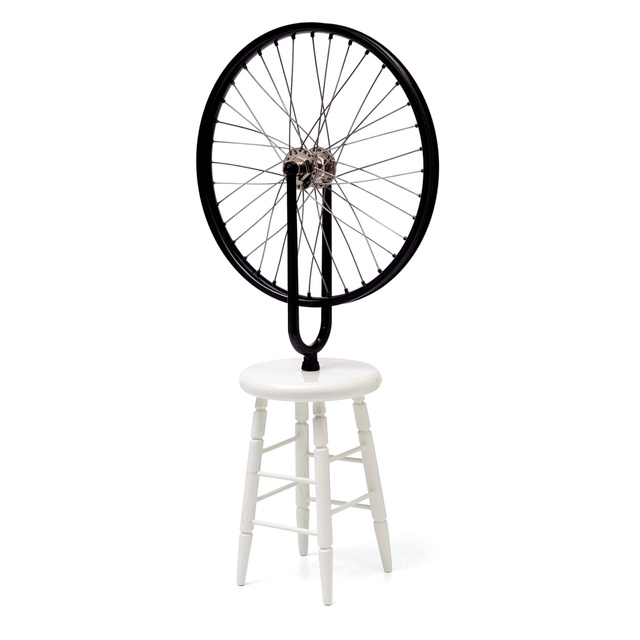 """, 'Bicycle Wheel Sculpture (Limited Edition 9"""" Working Replica Exclusively for the Philadelphia Museum of Art) ,' 2002, Alpha 137 Gallery"""