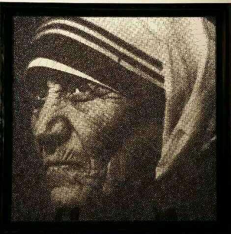 , '  Mother Teresa,' 2014, Ode to Art
