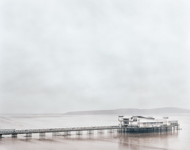 , 'Weston-Super-Mare Grand Pier, Somerset,' 2011, Flowers