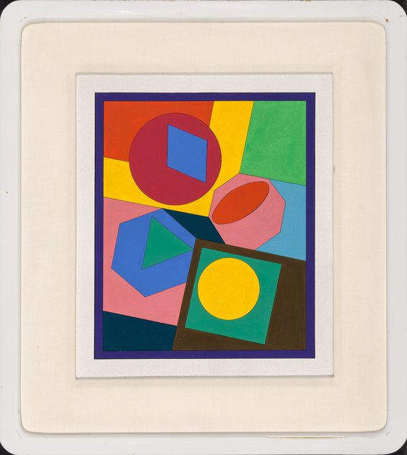Victor Vasarely, 'Orias', 1980, Painting, Acrylic on board, Heritage Auctions