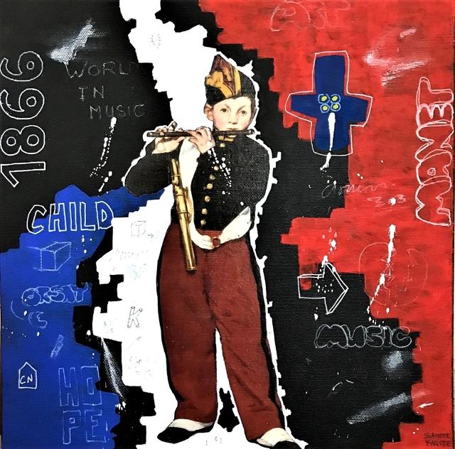 Sainte Fauste, 'Music Man', 2018, Poulpik Gallery