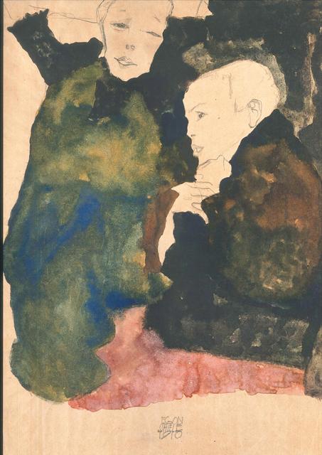 , 'Vorstadtkinder,' 1990, Wallector