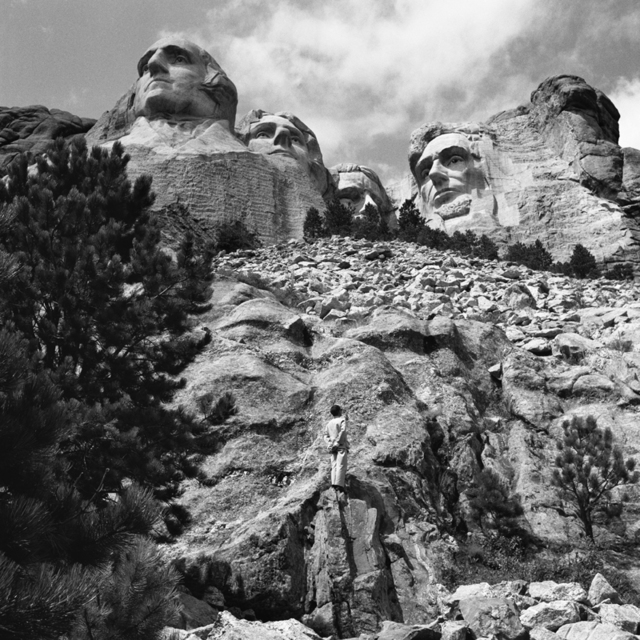 , 'Shrine of Democracy: Mount Rushmore, Black Hills, South Dakota,' 1986, Grey Art Gallery