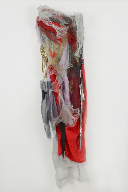 , 'Red Dress with Chains,' 2012, Walter Wickiser Gallery