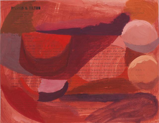 , 'Paperwork 3,' 2012, Roberts & Tilton