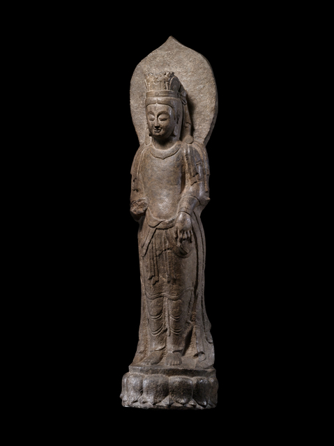 'Standing Bodhisattva', 550-577, Avery Library