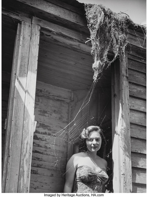Clarence John Laughlin, 'Will You Step into My Parlor?', 1949, Heritage Auctions