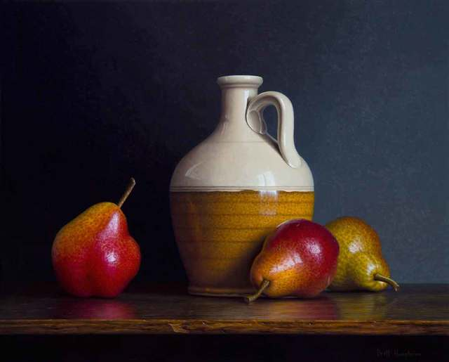 , 'Jug and Pears,' 2018, Catto Gallery