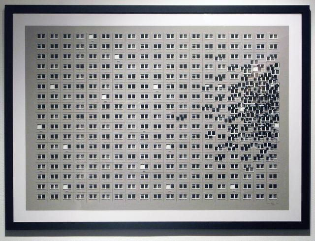 , 'Blockprint 01,' 2010, Jonathan LeVine Projects