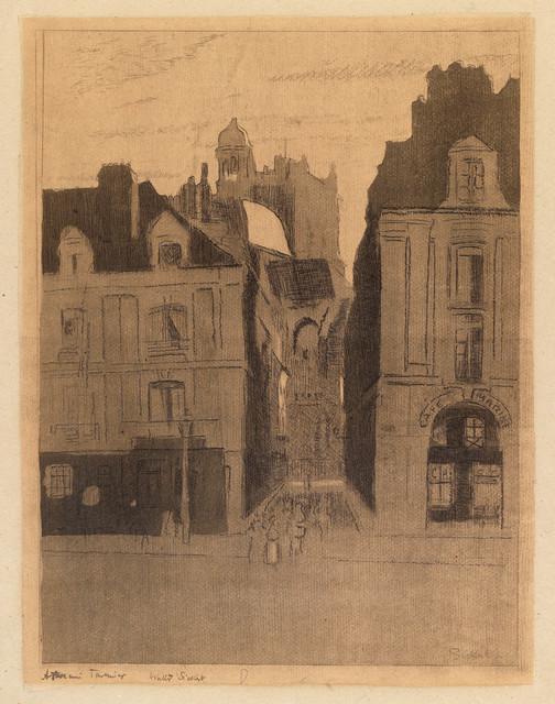 , 'Dieppe, La rue Notre Dame,' 1909, The Fine Art Society