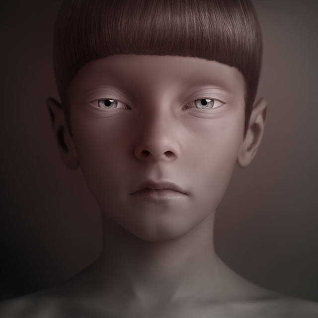 """, 'Dasha from """"Sketches"""" series,' 2008, Galeria Senda"""