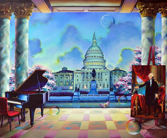 , 'Presidential Perspective,' , LaMantia Fine Art Inc.