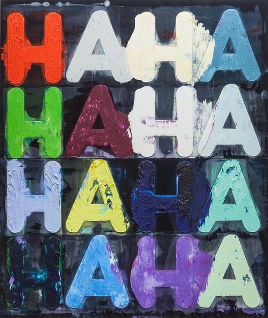 Mel Bochner, 'Ha, Ha ', 2014, Simon Lee Gallery