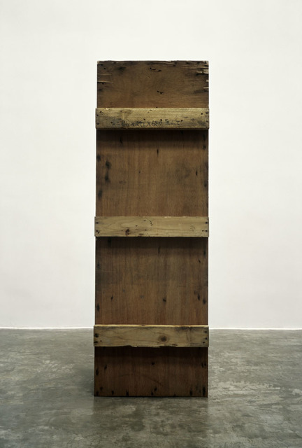 , '纪念碑_⽊箱 / Wood Case,' 2010, Shanghai Gallery of Art