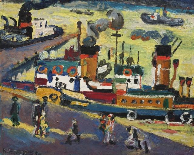 , 'Port of Arkhangelsk,' 1957, Vail International Gallery