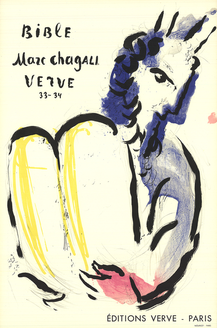 Marc Chagall, 'Bible Verve', 1956, ArtWise