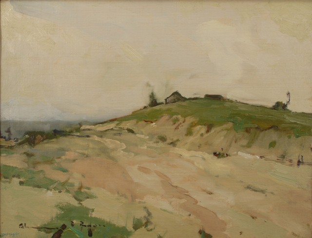 Chauncey Ryder, 'Misty Hills', ca. 1915, Painting, Oil on canvas, Private Collection, NY