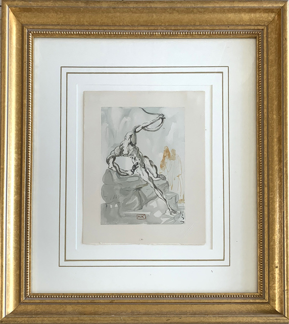 Salvador Dalí, 'Divine Comedy - Inferno 24 - Robbers', 1951-64, Print, Woodblock, Vanessa Villegas Art Advisory