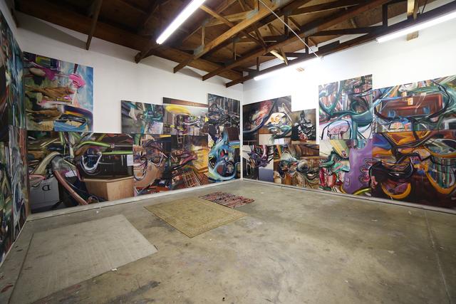 , 'Filmy Album,' 2017, Mark Moore Fine Art