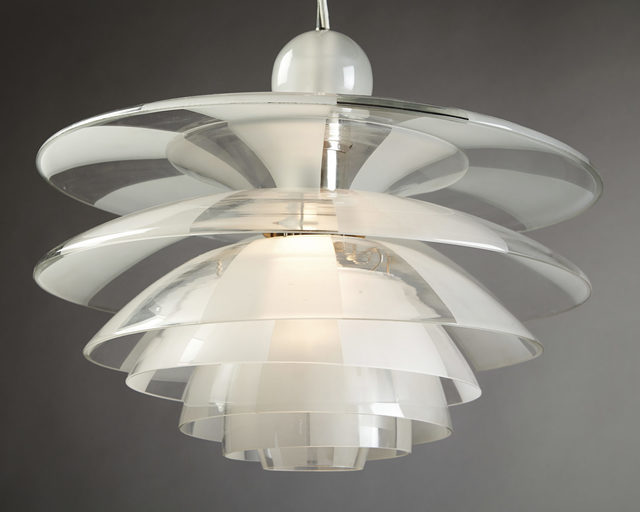 , 'Ceiling lamp,' 1929, Modernity
