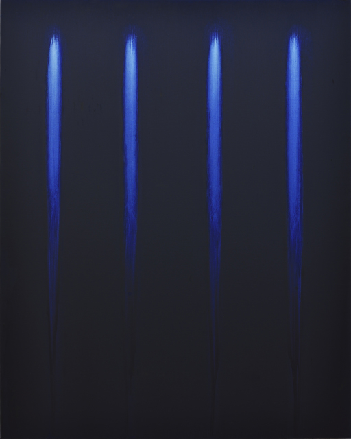 , 'Blue on White n°5,' 2014, Isabelle Gounod