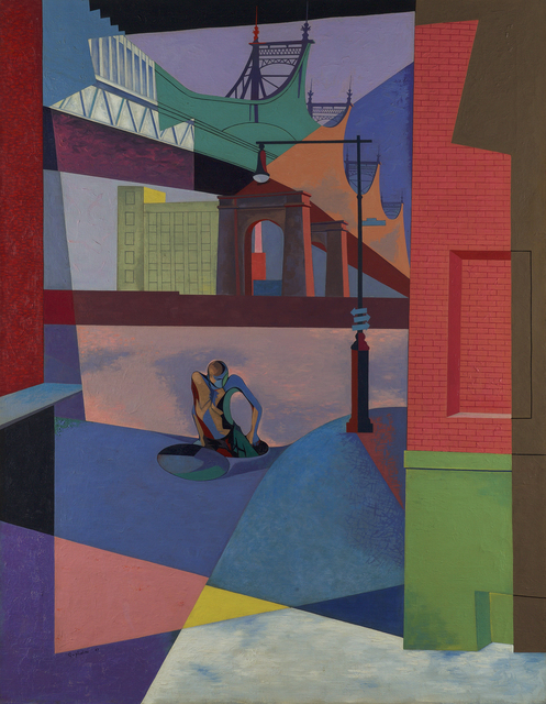 , 'Elements of the Street,' 1947, Debra Force Fine Art